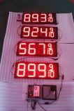 Hidly 12 인치 빨간 과민한 LED 유가 위원회