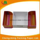 Het uitstekende kwaliteit Aangepaste Vakje van het Document van het Karton met verscheidene Deel