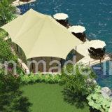 Weerstand van de Wind van het Bewijs van het Water van de Aanpassing van de Tent van de Toevlucht van de luxe de Permanente