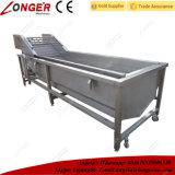 Lavadora industrial de la fruta y verdura del acero inoxidable