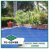 Tampa de segurança durável da piscina para a associação ao ar livre