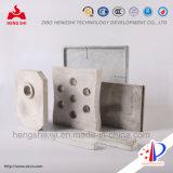 Brique métallisée Zg-114 de carbure de silicium de nitrure de silicium