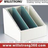 Willstrong Aluminium Honeycomb Panel Décoration de bureau Partition