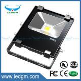 Precio de fábrica de la calidad superior con luz de inundación de la cubierta 20W 30W 50W 70W 100W LED del lumen de la luz de inundación del LED la alta IP65