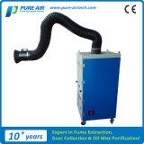Extracteur mobile de vapeur de soudure de Pur-Air pour le soudage à gaz avec du flux d'air 1500m3/H (MP-1500SA)