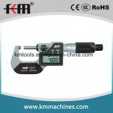 grado exterior electrónico de la protección del micrómetro IP65 del indicador digital de 50-75m m