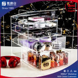 Wholesale Custom Black Acrylic Makeup Organizer with Logo