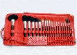 Hölzernes Griff 20 Pinsel-Großhandelsset PCS-Makuep mit Beutel