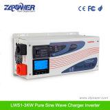 Invertitore ibrido puro Lw1000-6000W di potere del caricatore dell'onda di seno