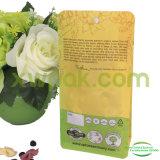 Sachet en plastique inférieur carré pour le fruit sec