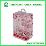 Transparentes Plastikdrucken-faltende Kasten-Verpackung