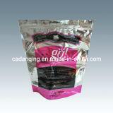 Мешок пластичного кофеего упаковывая с мешком клапана раговорного жанра с застежкой -молнией