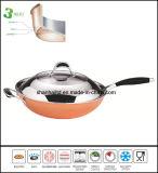 Dell'articolo da cucina del Cookware Wok del corpo tre volte