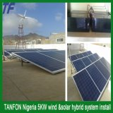 sistema de energía solar independiente del almacenaje 5kw para el interruptor de la red