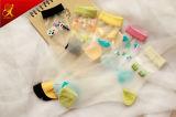 Cystom Frauen-Sommer-Abnützung transparente blosse Slik Socken