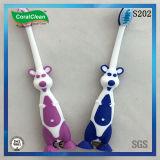 De zachte Tandenborstel van de Jonge geitjes van de Vorm van de Kangoeroe van het Varkenshaar