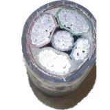 PVC проводника 5-Core Vlv22 алюминиевый изолировал силовой кабель Sta обшитый PVC