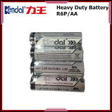 R6 bateria do zinco do carbono da bateria 1.5V AA R6 Sum3
