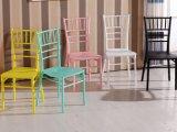 싼 가격 M-X1811를 가진 Chiavari 의자 Tiffany 플라스틱 의자