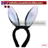 모조 보석 장식 못 토끼 성숙한 머리 보석 (P4036)