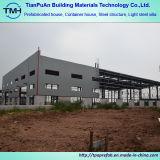 Zona industrial de construção de aço para a área da produção