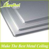 595*595 legen in akustische Aluminiumdeckenverkleidung mit feuerfester und schalldichter Bescheinigung