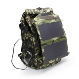 cargador plegable portable del bolso del panel solar 12W para acampar al aire libre