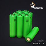Bateria recarregável do melhor íon de Sony Vtc4 2100mAh 3.7V 18650 Li do preço