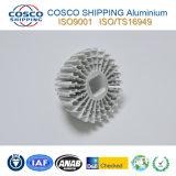 Konkurrierendes Aluminiumprofil für Kühlkörper mit der natürlichen Anodisierung und der maschinellen Bearbeitung