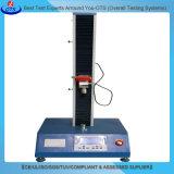 Máquina de prueba de escritorio universal de la fuerza extensible de la película fina de la sola columna