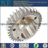 Soem-Präzision schwarze anodisierte CNC-Maschinen-Aluminiumersatzteile