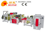 Doppelte Hochgeschwindigkeitszeilen Stern-Dichtungs-Abfall-Beutel, der Maschine herstellt