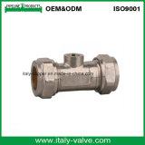 Qualité personnalisée polissant isolant le robinet à tournant sphérique (AV6001A)