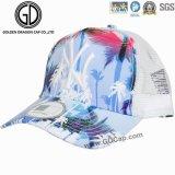 Qualitäts-Form Microfiber Baseball-Fernlastfahrer-Hut mit gedrucktem Firmenzeichen