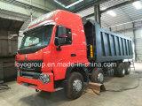 Sinotruk HOWO A7 12 바퀴 쓰레기꾼 트럭