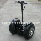 Vier Rad-leistungsfähiger elektrischer Roller-fetter Gummireifen 48V 12ah 700W