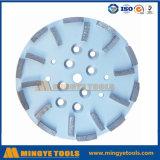 диск диаманта 10inch меля, абразивный диск диаманта для молоть конкретный пол