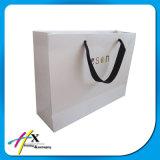 공상 디자인은 Kraft 백색 쇼핑 종이 봉지를 재생한다