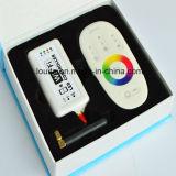 Controlador LED 2.4G RF con pantalla táctil del mando a distancia inalámbrico