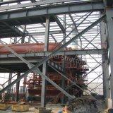 化学使用法のためのプレハブの鋼鉄構築の建物