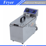 Friteuse électrique commerciale à réservoir unique (DZL-081B)