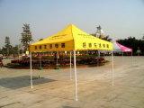 3X3m Strand die Tent met de Zijgevels van de Druk van het Embleem vouwen