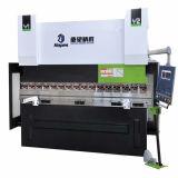 We67k 125t/3200 전동 유압 통제되는 동시 CNC 구부리는 기계