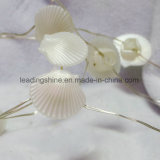 Blanc chaud de câblage cuivre léger étoilé de 30 DEL pour la forme 4.5 V d'interpréteur de commandes interactif de mer de chambre à coucher