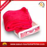 新しいパターンWholesale100%Polyester珊瑚の羊毛毛布、旅行航空会社毛布