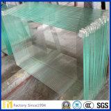 glace de flotteur claire personnalisée biseautée par 1.8mm-10mm pour la construction ou les meubles
