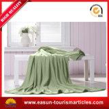 柔らかい高品質の安いウールの飛行機のアクリル系毛布