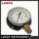 028フランジが付いている100mm標準乾燥した圧力計