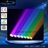 Indicatore luminoso capo mobile infinito della barra della lamierina 7 del pixel di rotazione 7*15W 4in1 LED