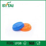 Qualität Disposbale fertigen Plastikkappen für Papiercup kundenspezifisch an